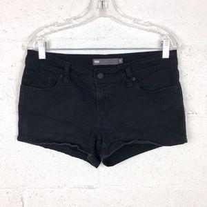 Levis Black Denim Shorts. Size: 28